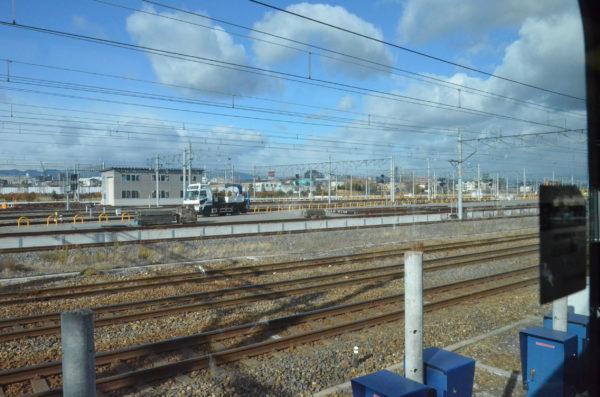 JR京都線から見える景色