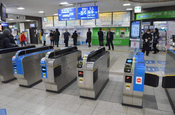 茨木駅改札