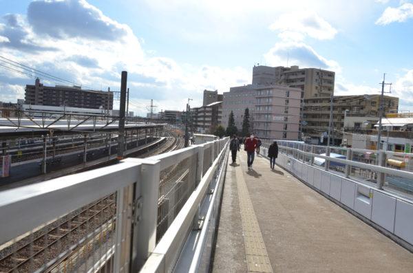 JR茨木駅のスロープ