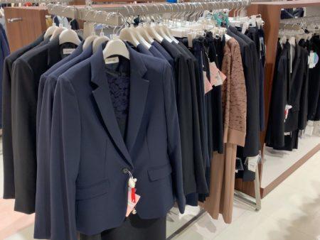 イオン店舗には洋服コーナーが